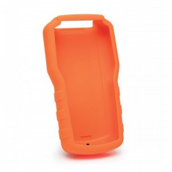 Rubber boot orange