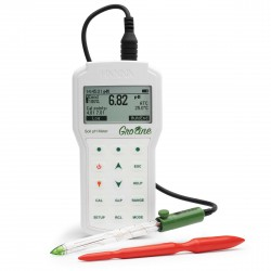 pH & Temperature Meter for soil - GroLine