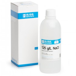 Standard Solution at 125 g/L NaCl - 1 x 500 mL bottle