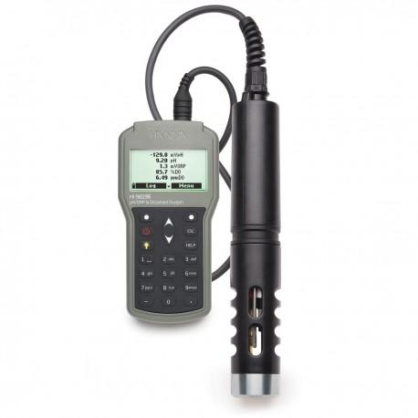 Multiparameter pH/ORP/DO Pressure/Temperature Waterproof Meter