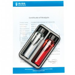 Standard Calibration Checking Set Fluoride HR Certified Standard Kit