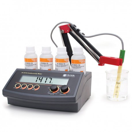 Conductivity with ATC Bench-Top Meter