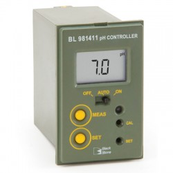 Mini panel mounted Controller pH 0.0-14.0pH
