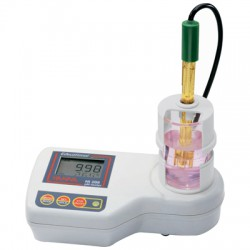 pH meter bench for Education with magnetic stirrer