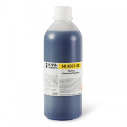 Alkaline ISA for ammonia/cyanide