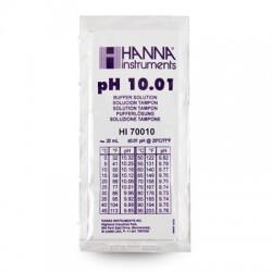 Buffer solution pH10.01 sachets 25x20ml