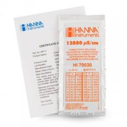 Cond.Solution 12880µS/cm Sachets Certificate