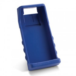 Rubber boot blue