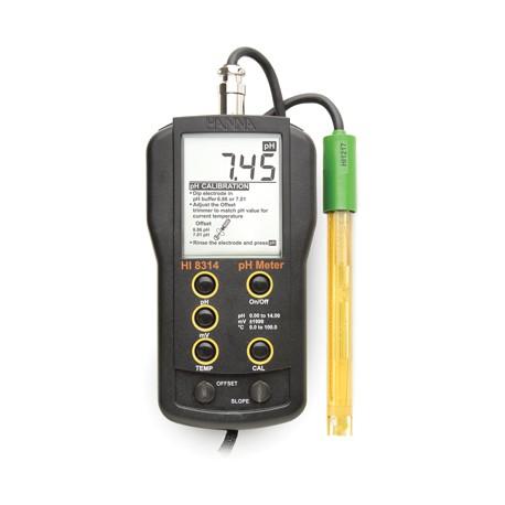 pH/ORP/°C meter DIN