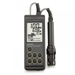 Dissolved Oxygen Meter with Galvanic Probe and 10m cable