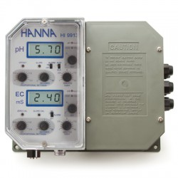 pH and Conductivity Controller Wall mounted
