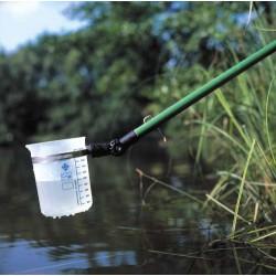 Vattenprovtagare med bägare och skaft 145-275cm*