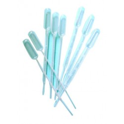 Pasteur pipette, plastic 3ml / 500pcs