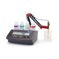 pH/mV meter bench manual temp. compensation and Analog Output