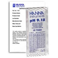 Buffer Solution pH9.18 Certifi