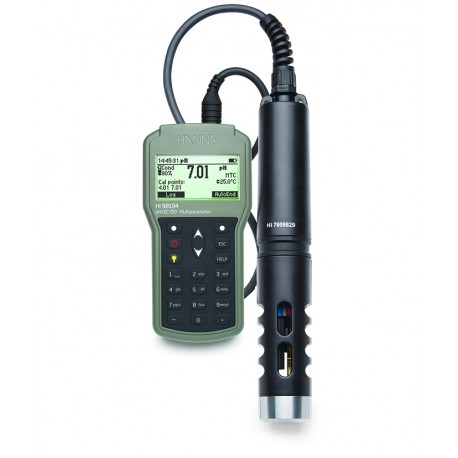 Multiparameter pH/ORP/EC/DO/Pressure/Temperature Waterproof Meter