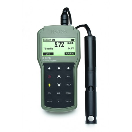 Dissolved Oxygen Meter Waterproof Portable