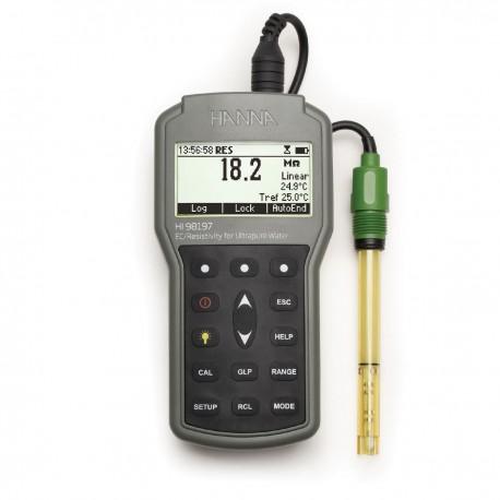 Ultra Pure Water Waterproof Portable Meter