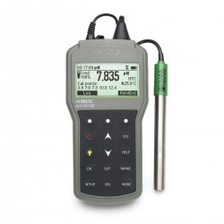 Waterproof Portable pH/ORP/ISE Meter