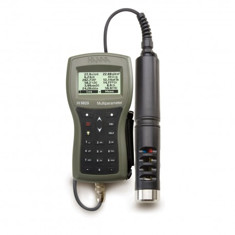 Multiparameter Meter with GPS and Logging probe, 4m Cable