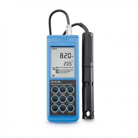 Dissolved Oxygen meter salinity/altitude 4m