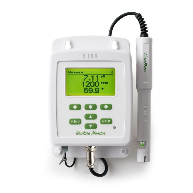 Monitor GroLine Hydroponic Nutrients pH, EC, TDS and °C